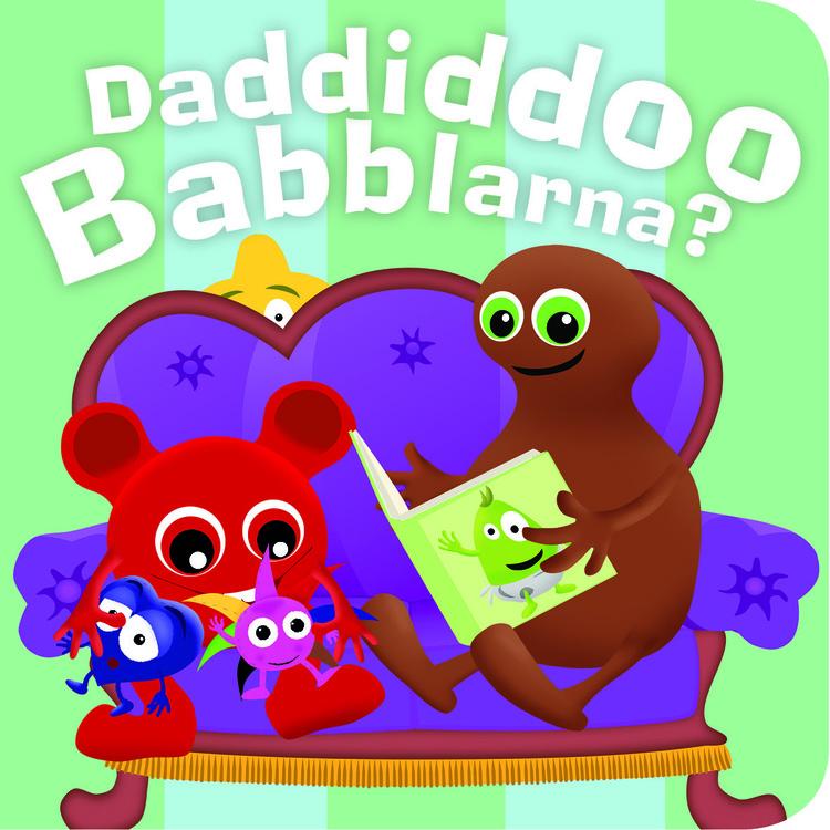 Babblarna- Daddiddoo Babblarna, kartongbok