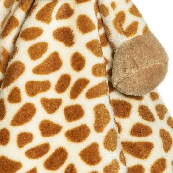 Diinglisar Snuttefilt Giraff, Beige-brun