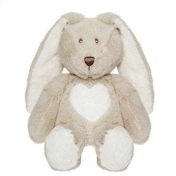 Teddy Cream Kanin, mini, grå