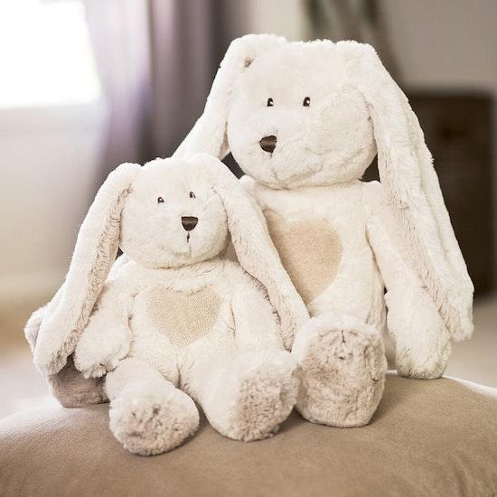Teddy Cream Kanin, mini, vit