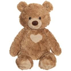 Teddy Cream, Nalle Gosedjur, Brun, 30cm
