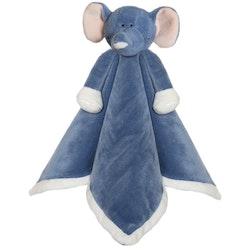 Diinglisar Snuttefilt Elefant, Denim