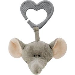 Diinglisar Wild Bitleksak/vagnhänge Elefant, 17 cm