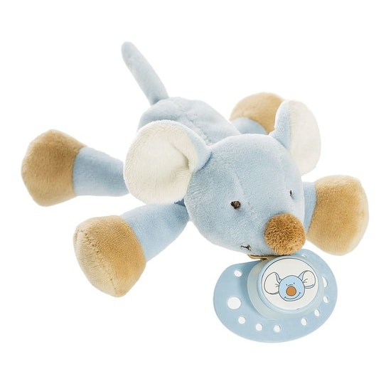 Diinglisar Napphållare Buddy Mus, Blå, 16 cm