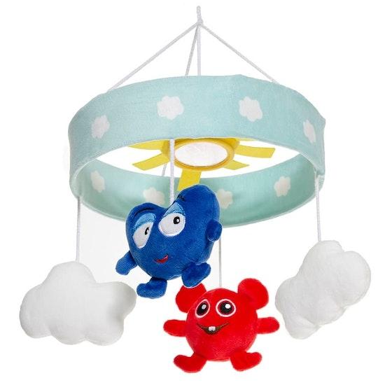 Babblarna Baby- Mobil Moln