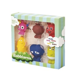Babblarna- Plastfigurer, BD Mix, 6 olika