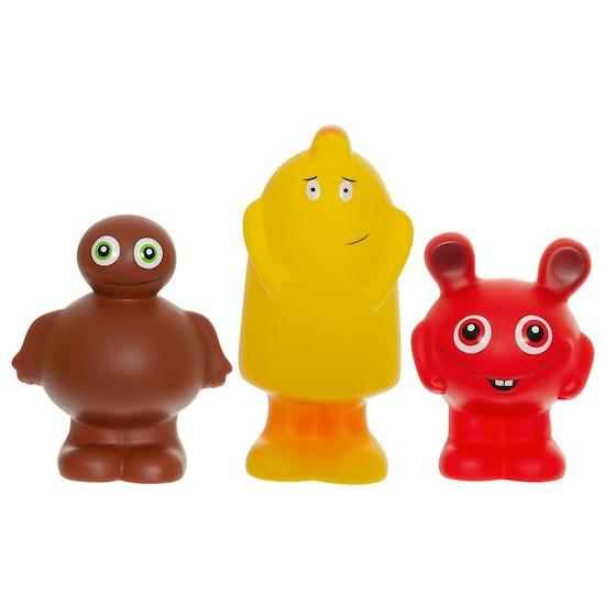 Babblarna- Stora plastfigurer, B-Mix, 3 ol.