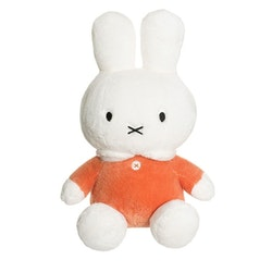 Miffy mjukis, stor, orange