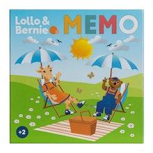 Lollo & Bernie, Memo, 72 kort, fr. 2 år