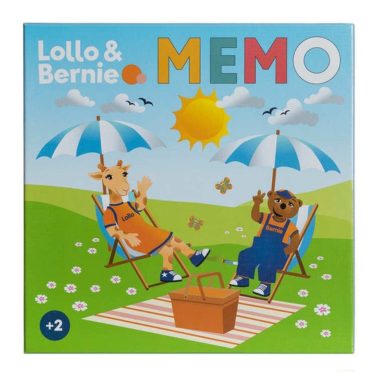 Lollo & Bernie Memo, 72 kort, fr. 2 år