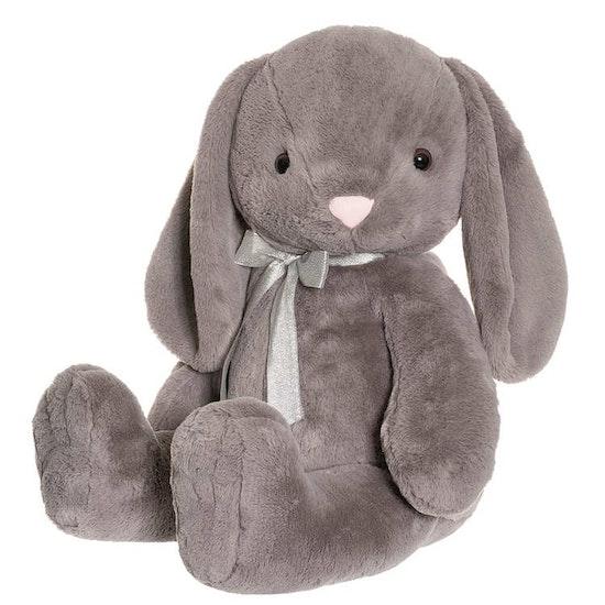 Olivia Kanin Gosedjur, grå, 85 cm