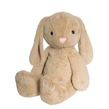 Kanin Olivia, beige, stor 85 cm