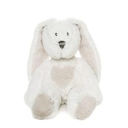 Teddy Cream Kanin Gosedjur, vit, 33 cm