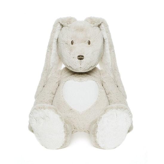 Teddy Cream Kanin Gosedjur, grå, 72 cm