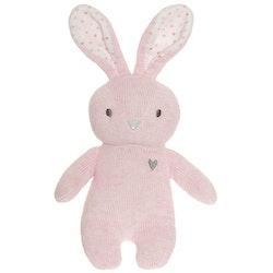 Cozy Knits Kanin Gosedjur, rosa, 20 cm
