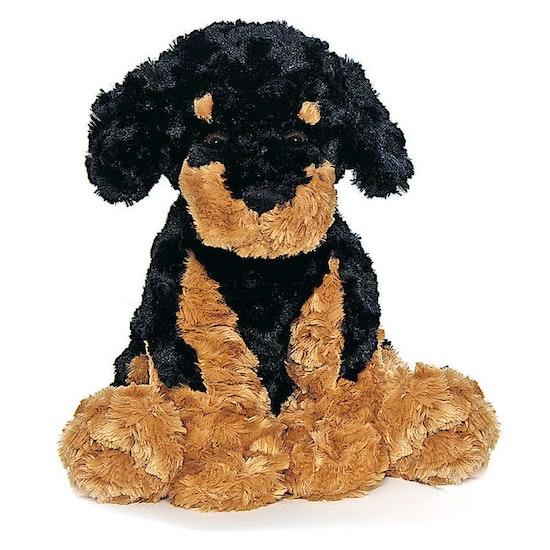 Vovve Hund Gosedjur, brunsvart, 40 cm