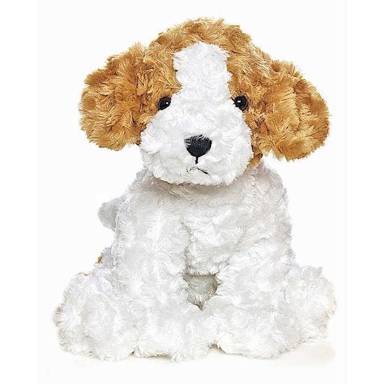 Vovve Hund Gosedjur, vit, 40 cm