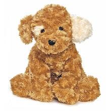 Vovve Hund Gosedjur, beige, 40 cm