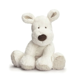 Teddy Cream Hund, stor, vit