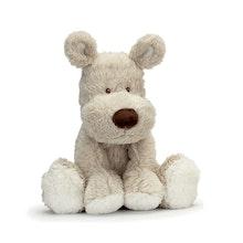 Teddy Cream Hund, liten, grå