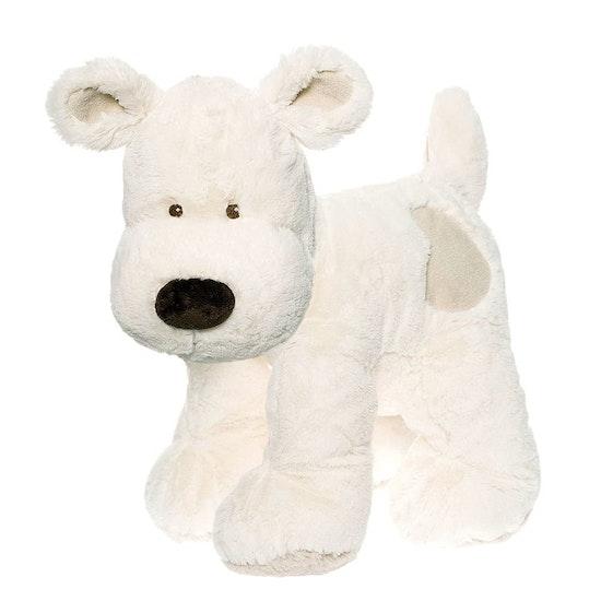 Teddy Cream Hund, XL, vit