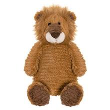 Tuffisar Lejonet Leo Gosedjur, brun, 35 cm