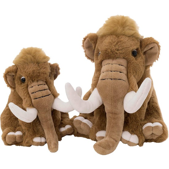 Dreamies Mammut, brun, 25 cm