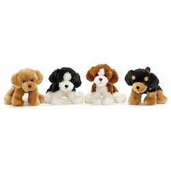 Busiga Hundar, 4 olika färger, 18 cm