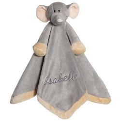 Snuttefilt med namn, Diinglisar Elefant, Grå