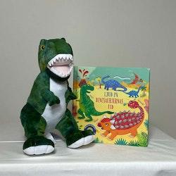 Paket Självlysande Dino & Bok med ljud