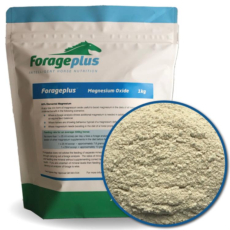 Forageplus Magnesiumoxid 99,8% 1 kg