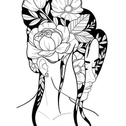 Print A4 - Woman 3