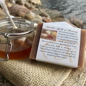 Mandel, Mjölk & Honung Naturtvål