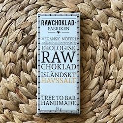 Rawchoklad Isländskt Havssalt EKO
