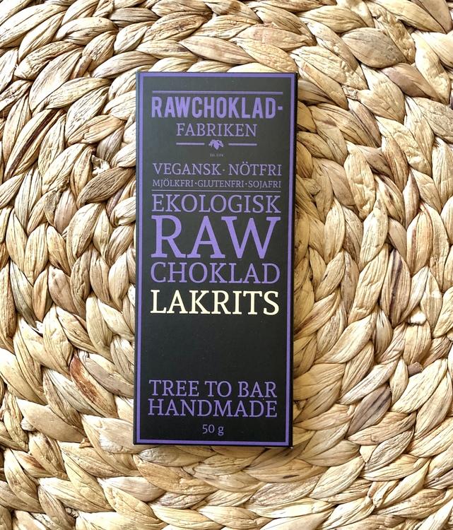 Rawchoklad Lakrits EKO