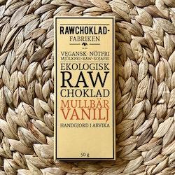 Rawchoklad Mullbär & Vanilj EKO