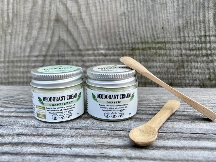 Naturlig Deo Cream-Doftfri EKO 15ml