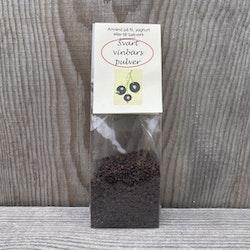 Svartvinbärs-pulver