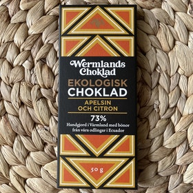 Wermlands Choklad Apelsin och Citron EKO