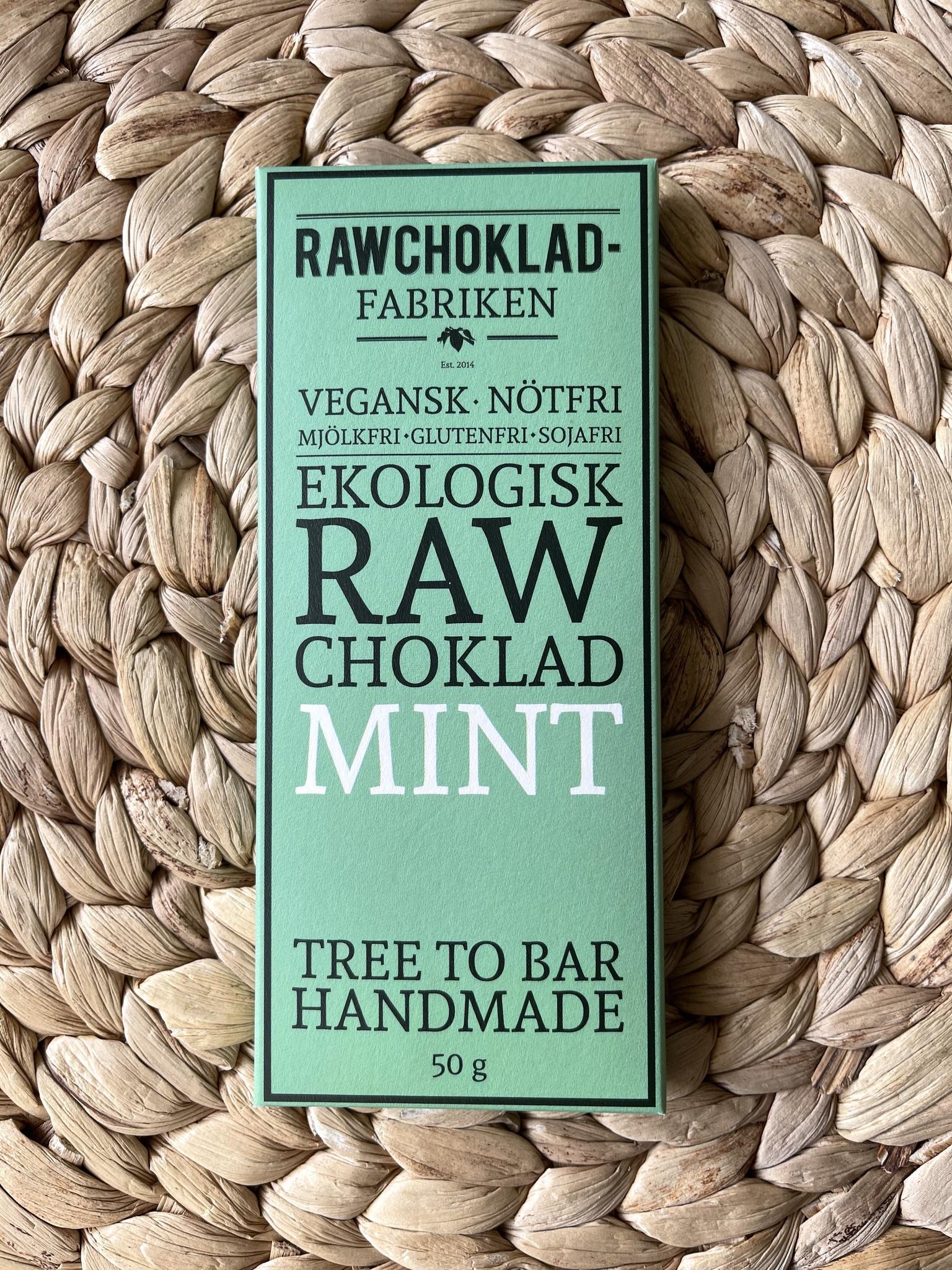 Rawchoklad Mint EKO
