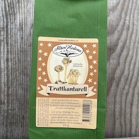 Torkad Trattkantarell