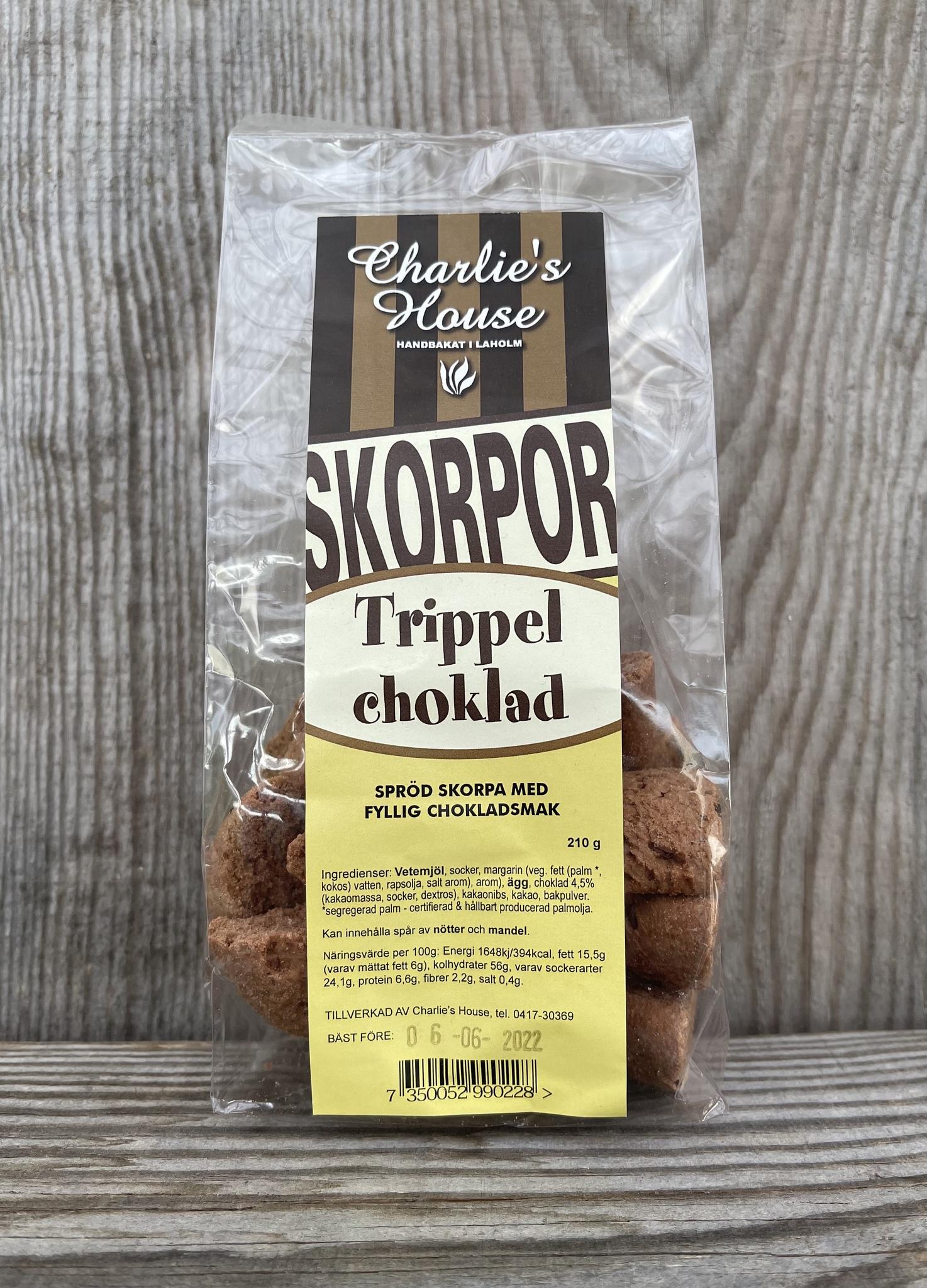 Trippel Choklad Skorpa