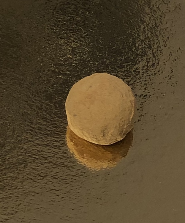 Vår egen: Lakritstryffel (Mjölkchokladskal)
