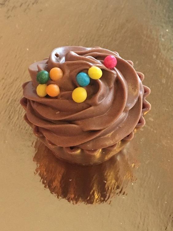 Cupcake Chokladcrisp (INNEHÅLLER GLUTEN)