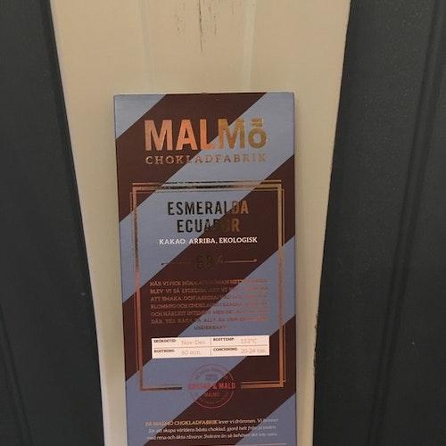 Malmö Choklad Esmeralda Ekologisk 68 %