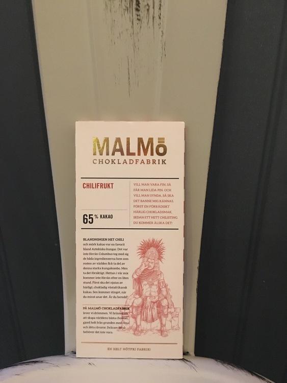Malmö Choklad Chilifrukt 65% Kakao