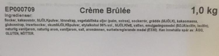Creme Brulée