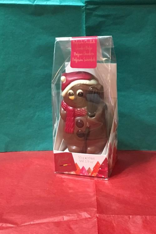 Julfigur i mjölkchoklad 55g