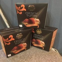 Fransk Tryffel med salta smörkaramell bitar