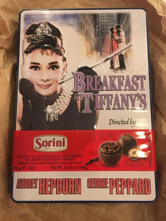 Breakfast At Tiffany´s Plåtask
